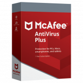 Antivirus Plus | 5 appareils | 1 an | PC/Mac/Android/iOS | Téléchargement