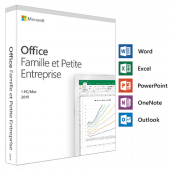 Office famille et petite entreprise 2019   1 Poste   PC   En Téléchargement