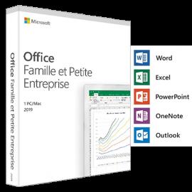 Office famille et petite entreprise 2019 - 1 Poste - PC/MAC