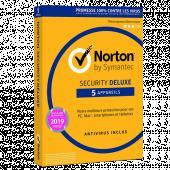 Symantec Norton Deluxe 5 postes PC/Mac/IOs/Android