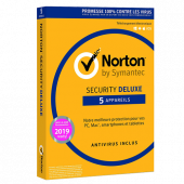 Symantec Norton Deluxe 5 postes PC/Mac/IOs/Android