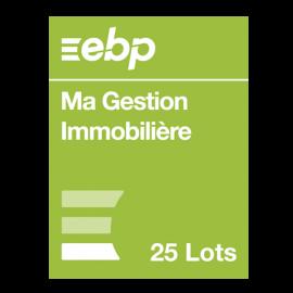 EBP Ma gestion immobilière 25 lots