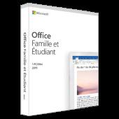 Office famille et étudiant 2019 | 1 Poste | PC | En Téléchargement