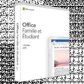 Office famille et étudiant 2019 | 1 Poste | PC | Téléchargement