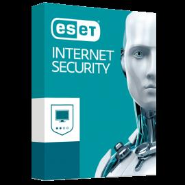 ESET Internet Security   5 postes   1 an   PC   Téléchargement