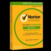 Norton Security Standard 2021 | 1 poste | 3 ans | PC/Mac | Téléchargement