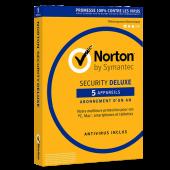 Symantec Norton Security Deluxe 5 postes 2020