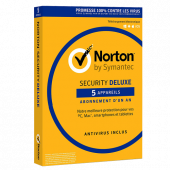 Symantec Norton Security Deluxe 5 postes 2020