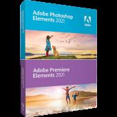Photoshop Elements 2021 & Premiere Elements 2021 | licence perpétuelle | 1 poste | PC | En téléchargement