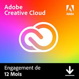 Creative Cloud Personal 2021   1 an   1 poste   Mac   En téléchargement